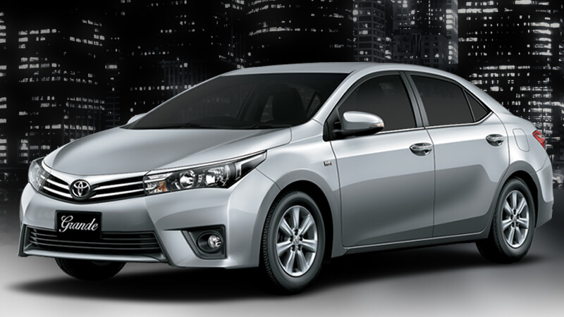 Toyota Corolla Grande Medium Silver Color