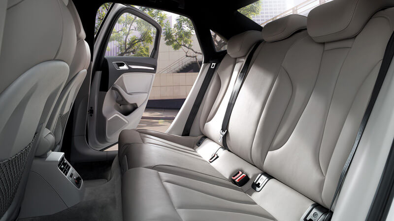 Audi A3 Rear Seats View