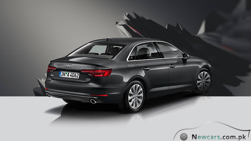 Audi A4 Back Side View