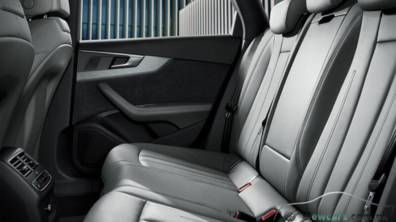 Audi A4 Rear Seats View