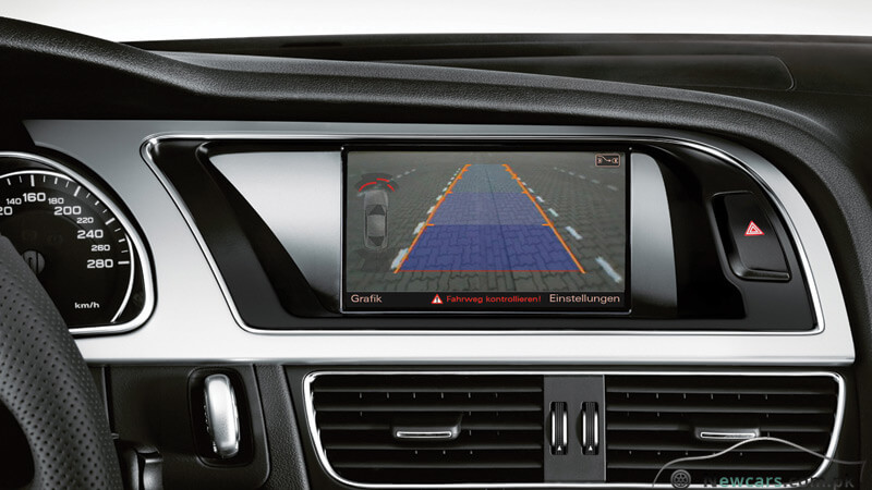 Audi A5 Parking System Plus with Reversing Camera