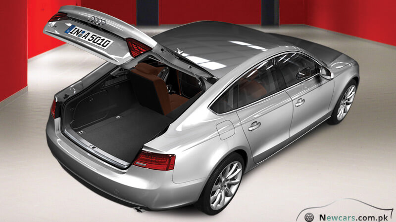 Audi A5 Rear Exterior - Spacious Trunk For Your Luggage