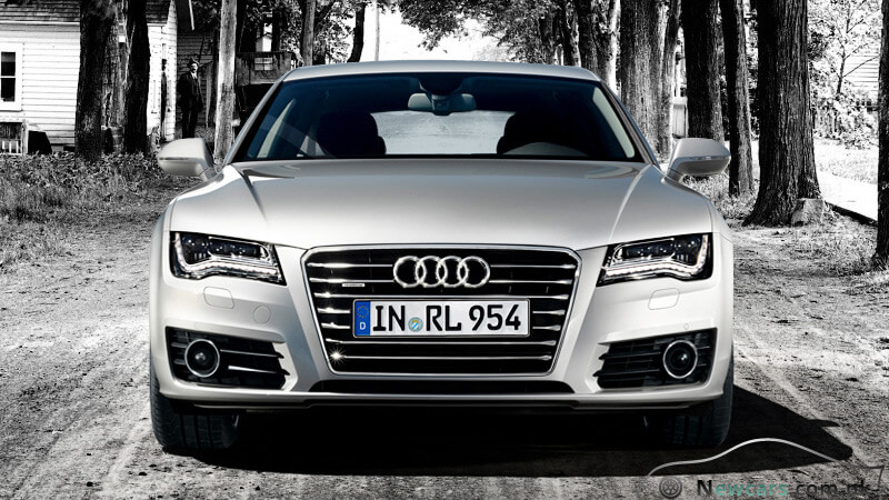 Audi A7 Front View