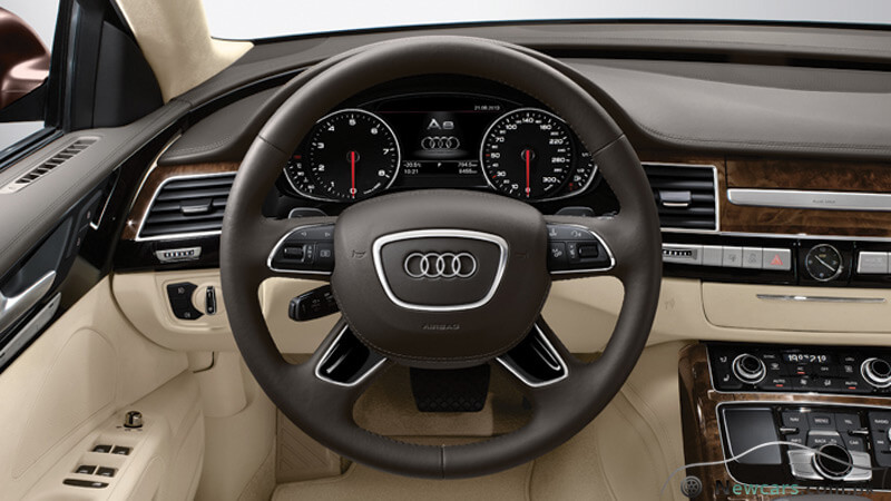 Audi A8 Electromechanical Steering Wheel