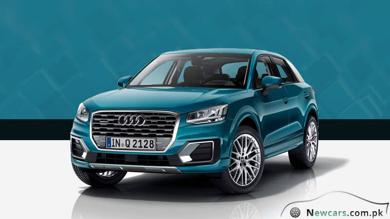 Audi Q2 Ara Blue Color