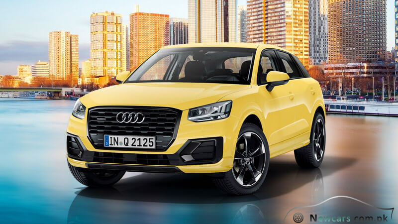 Audi Q2 Vegas Yellow