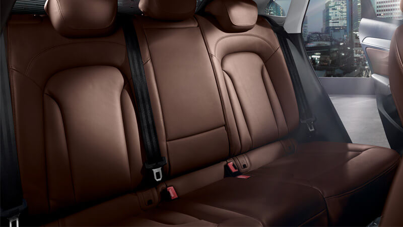 Audi Q3 Rear Seats Interior