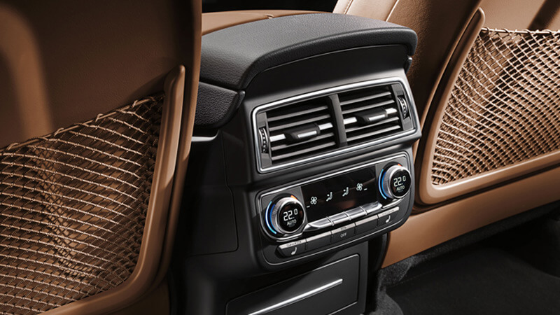 Audi Q7 4-Zone Air Conditioning System