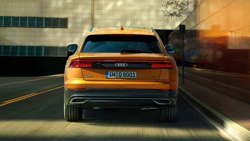 Audi Q8 Back Side Picture