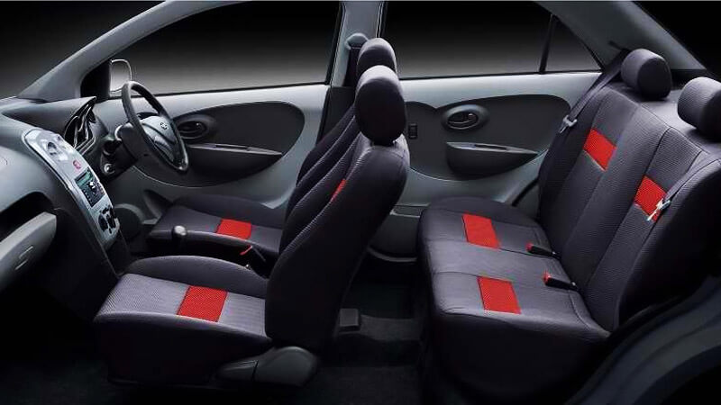FAW V2 Seats Interior
