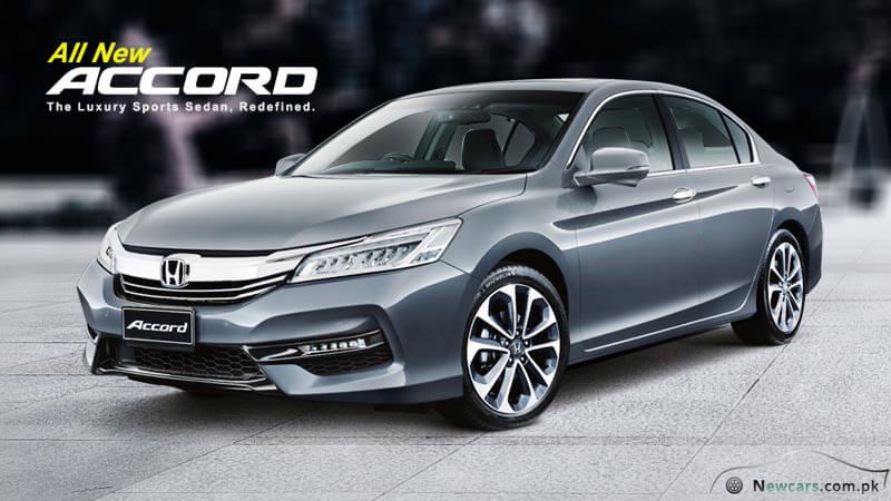 Honda Accord 2017 Exterior View