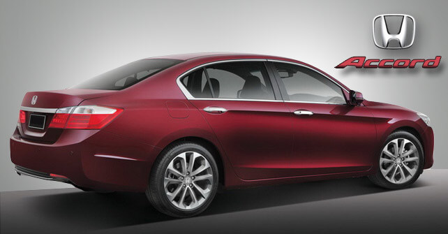 Honda Accord Dark Red Color