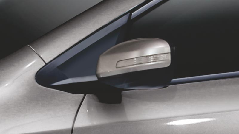 Honda City 2019 Side Mirrors with Turn Indicators