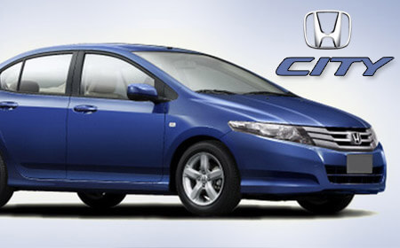 Honda City Dark Blue Color
