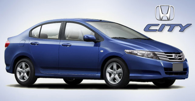 Honda City in Blue Color