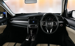 Honda Civic Dashboard View