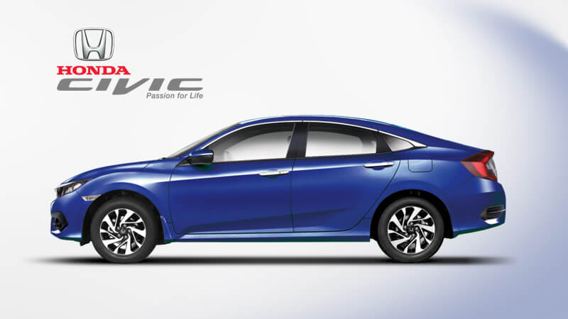 Honda Civic Side View