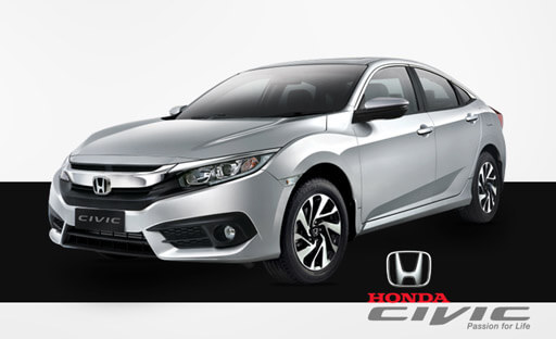 Honda Civic Silver Metallic Color