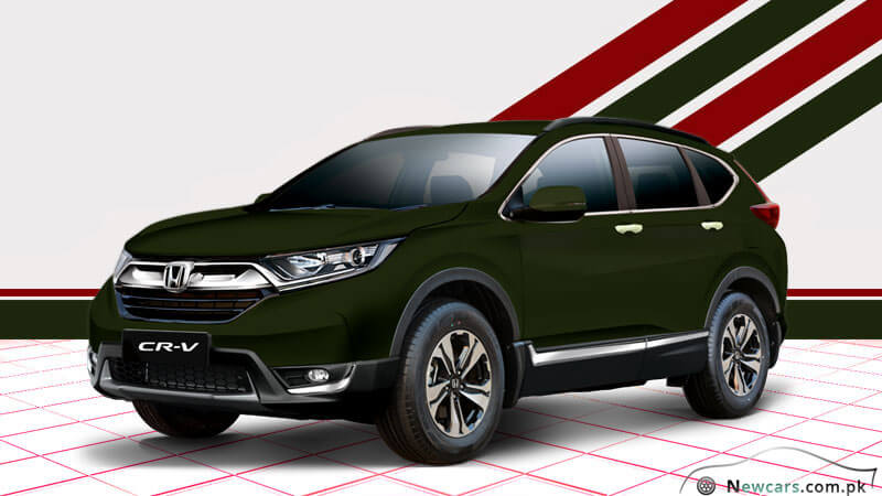 Honda CR-V 2018 Dark Olive Metallic