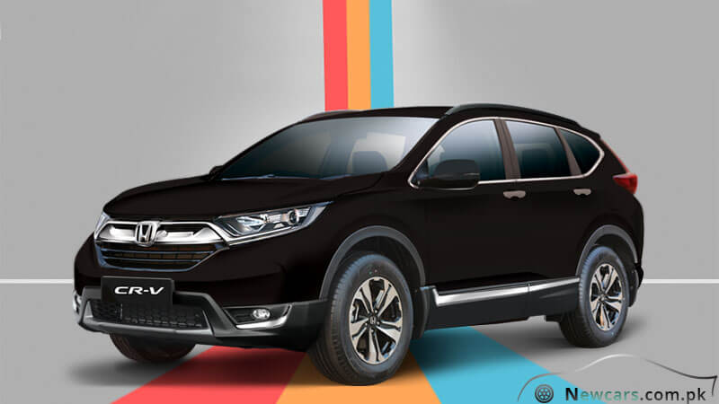 Honda CR-V 2018 in Crystal Black Pearl Color