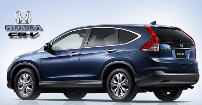 Honda CR-V Back Side Exterior