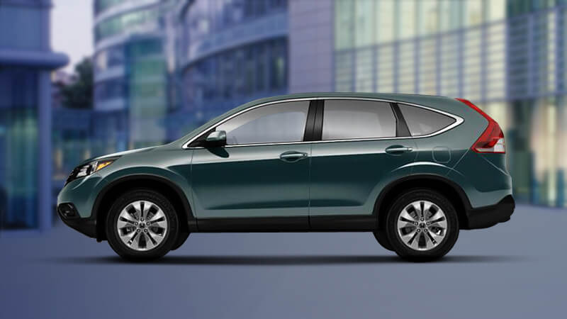 Honda CR-V in Opal Sage Metallic Color