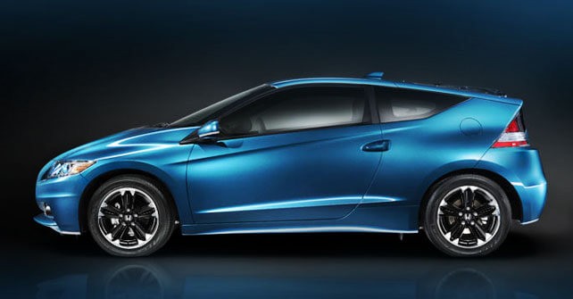 Honda CR-Z in Blue Color