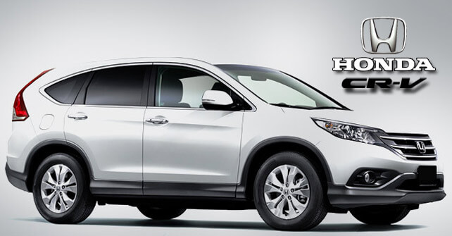 Honda CR-V White Color