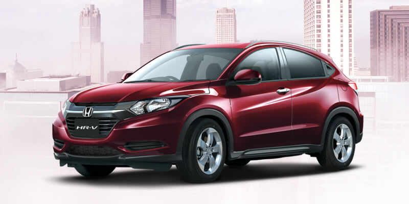 Honda HR-V Carnelian Red Pearl Color