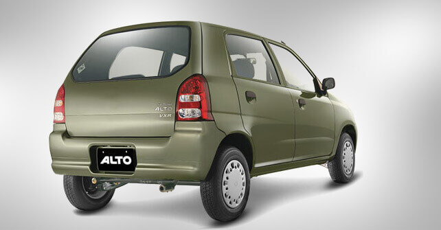 Suzuki Alto Back Side View