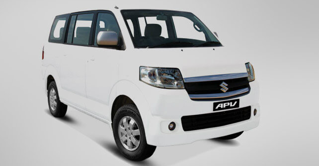 Suzuki APV Side Full View