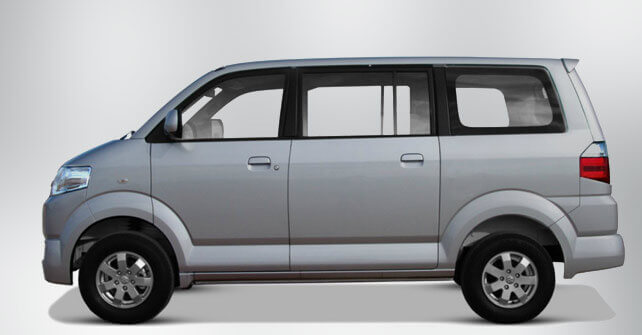 Suzuki APV Silver Color Side Full View