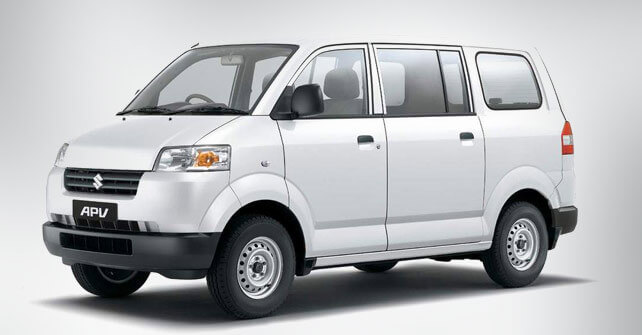 Suzuki APV White color Side View