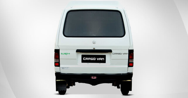 Suzuki Bolan Cargo Van Euro 2 White Color Back Side