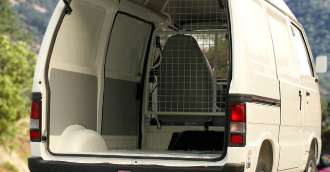 Suzuki Cargo Van Interior Full View