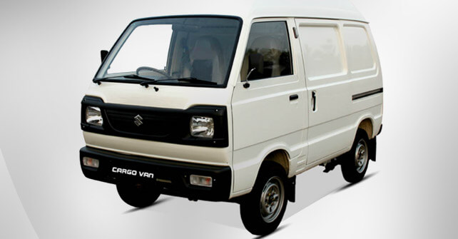 Suzuki Cargo Van Side View