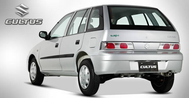 Suzuki Cultus Back Side View