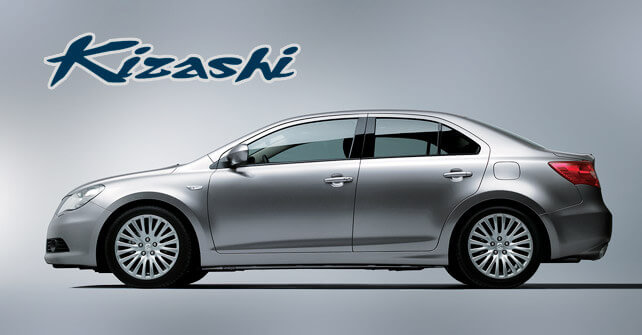 Suzuki Kizashi Side View