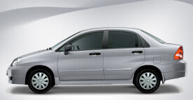Suzuki Liana Grey Color Side View