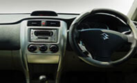 Suzuki Liana Steering Wheel Interior Full View
