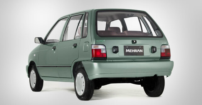 Suzuki Mehran Back Side Full View