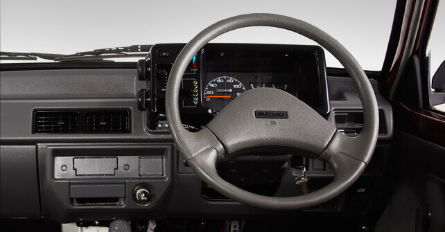 Suzuki Mehran Steering Wheel Interior Full View