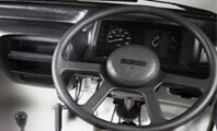 Suzuki Ravi Steering Wheel Interior Full View