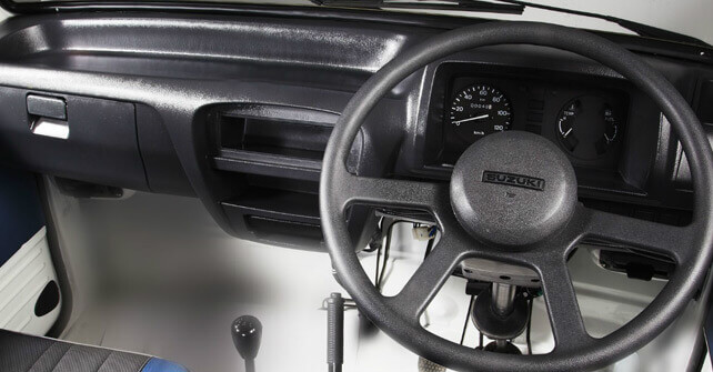 Suzuki Ravi Steering Wheel Interior