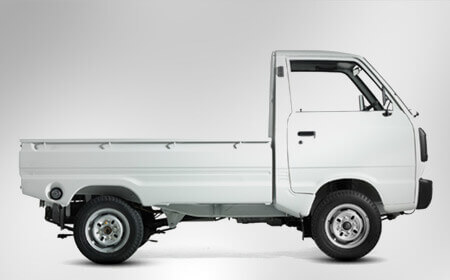 Suzuki Ravi White Color Side Full View