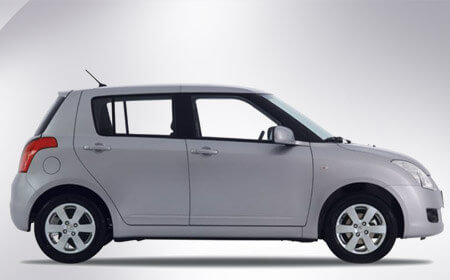 Suzuki Swift Grey Color Side Full View