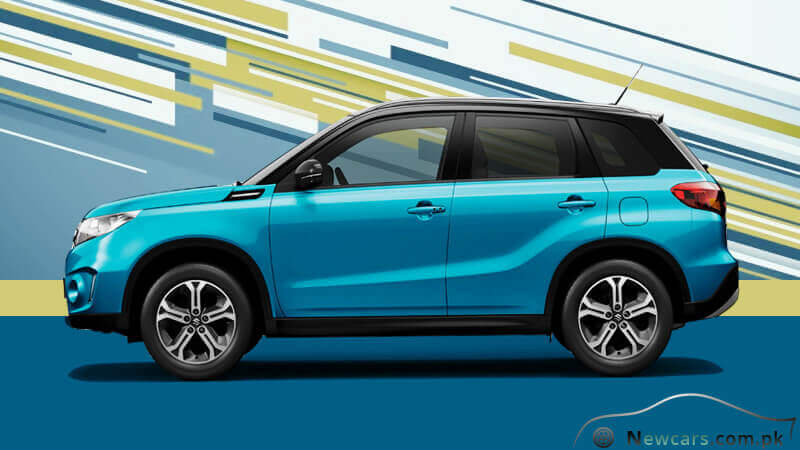 Suzuki Vitara Side View