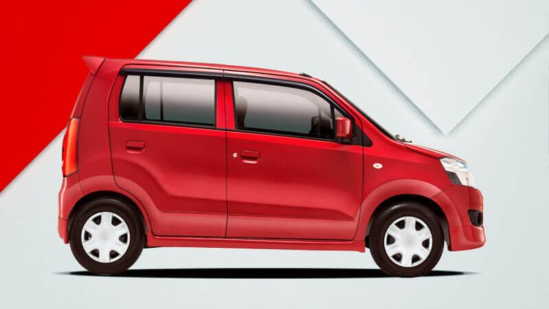 Suzuki Wagon R 2018 Phoenix Red Color