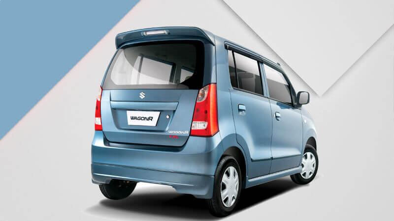 Suzuki Wagon R Back Side View