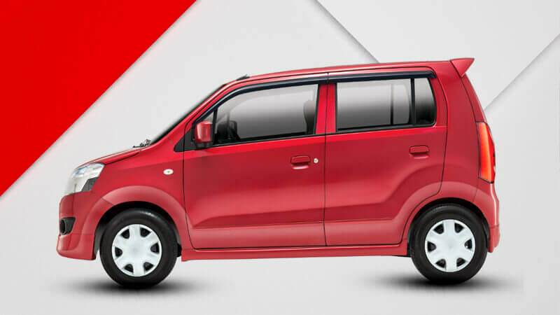 Suzuki Wagon R Side View Picture